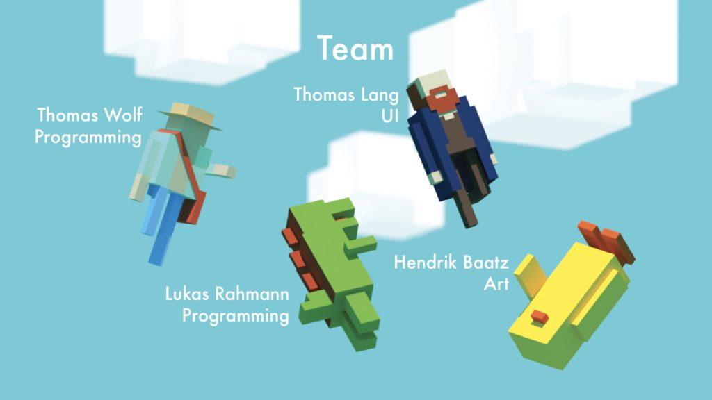 Indoor Astronaut Team Thomas Wolf Hendrik Baatz Thomas Lang Lukas Rahmann