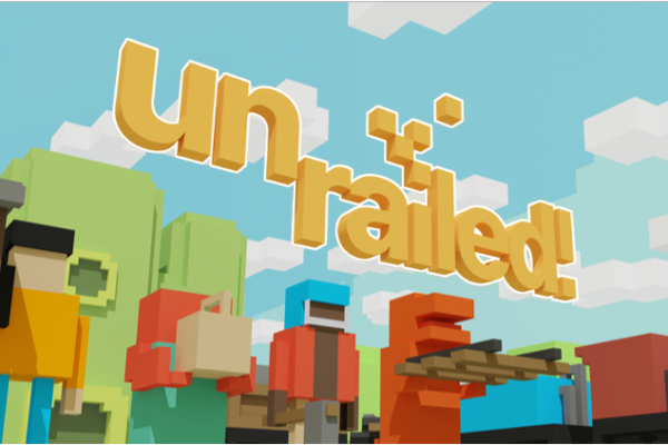 Unrailed! Steam Page Online!