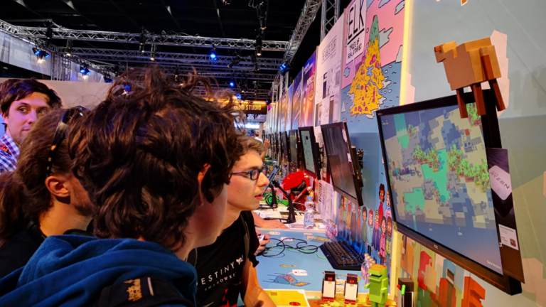 Unrailed! at gamescom 2019