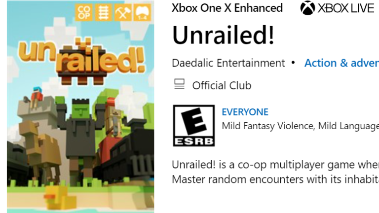 Unrailed! Xbox